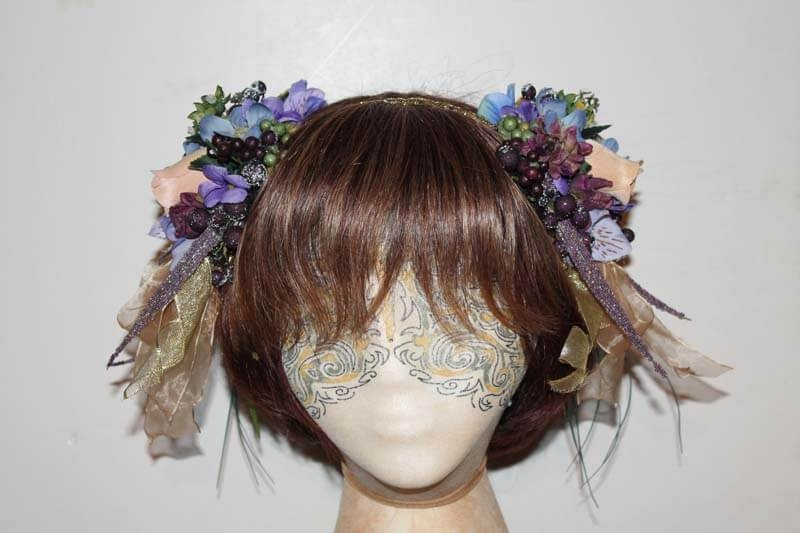 Grapes & Flowers Headband