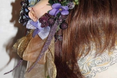 Grapes & Flowers Headband