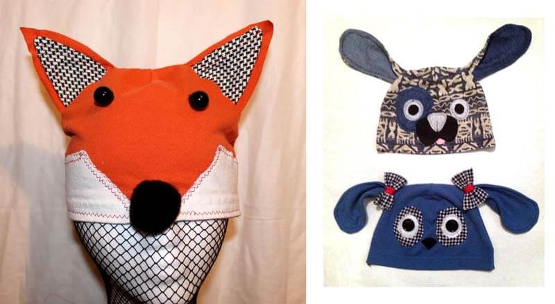 Fox & Dog Hats