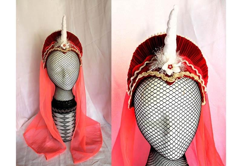 Lady Unicorn French Hood
