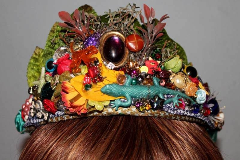 Lizard Queen Tiara