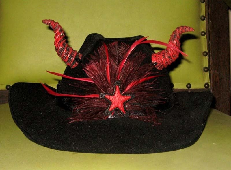 Texas Devil Cowboy Hat