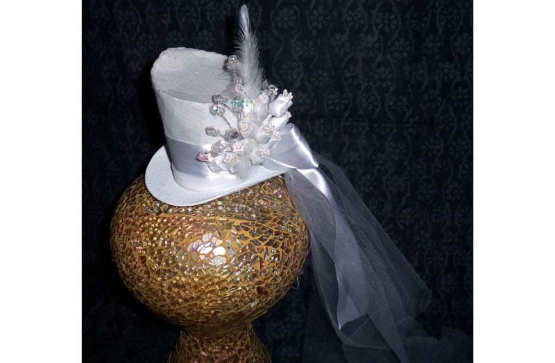Wedding Tiny Top Hat