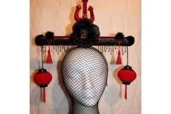 Asian Dragon Headpiece