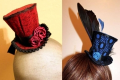 Red & Blue Tiny Top Hats