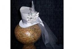 Wedding Tiny Top Hat