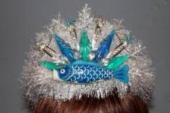 Blue Fishy Tiara