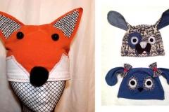Fox & Dog Hats