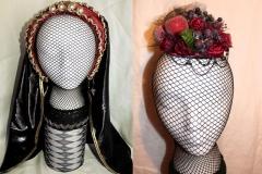 French Hood & Fruit Hat