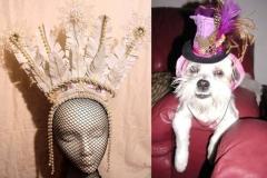 Headdress & Tiny Top Hat
