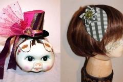 Tiny top Hat & Fascinator