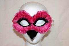 Pinkie Bird Flower Petal Mask