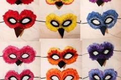 Flower Petal Masks for Los Gatos Ballet