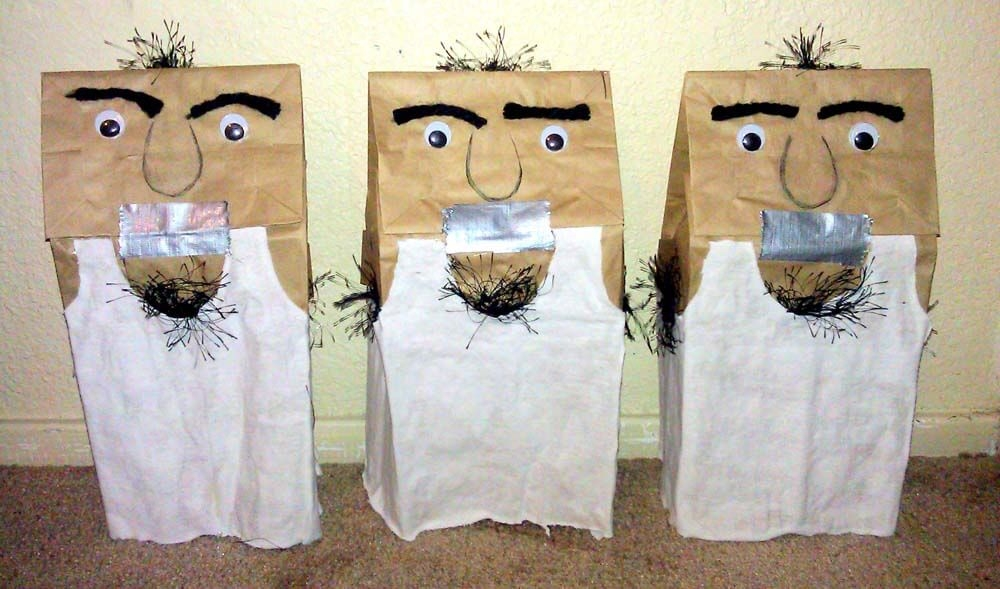 Lunch Bag Puppets
