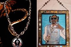 Gene Simmons Necklack & Snoop Dogg Art