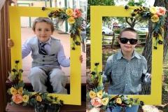 Yellow Wedding Photo Frame