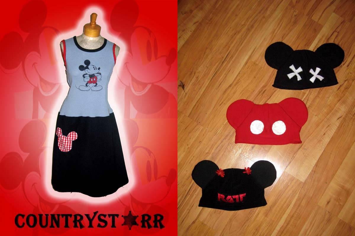 Mouse Dress & Hats
